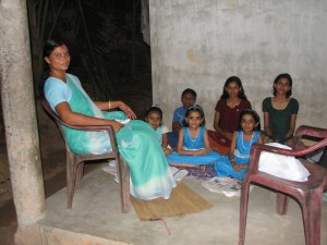 Evening Teaching and Visit - Kovalam, Kerala India - Trae Ashlie-Garen March 18, 2013
